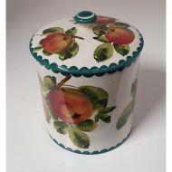 Large Scottish Wemyss Preserve Jar in Apples