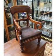 Highest Quality Victorian Mahogany Childs Chair