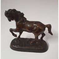 Early 20th Century Small Bronze Horse