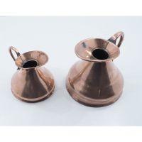Pair Victorian Copper Measures