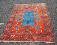 Bold Design Caucasian Style Eastern Carpet
