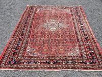 Vintage Persian Hamadan Wool Carpet