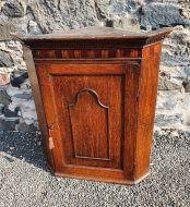 Superior Georgian Oak Corner Cupboard