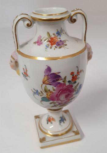 Pretty Continental Porcelain Urn or Vase