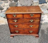 George 3rd Mahogany Chest of Drawers