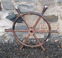 Early 20th Century Fishing Boat Wheel