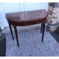 Georgian Gillows Style 'D' Tea Table