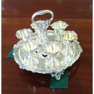 Elkington Silver Plated Egg Cup Holder