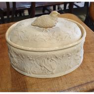 Victorian Copeland Oval Game Dish