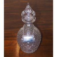 Beautiful Large Cut Glass Decanter