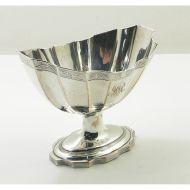 Large George 3rd Sheffield Plate Sugar Bowl