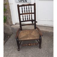 19th Century Spindle Back Nursing Chair