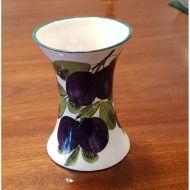 Scottish Wemyss Ware Purple Plums Vase