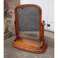19th Century Burr Walnut Dressing Mirror