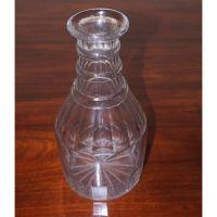Regency 3 Ring Cut Glass Water Carafe