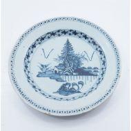 Good 18th Century Bristol Blue Delft Plate
