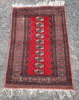 Vintage Tekke Turkoman Wool Rug