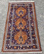 Fine Quality Afghan Wool Rug, Mainly Blue.